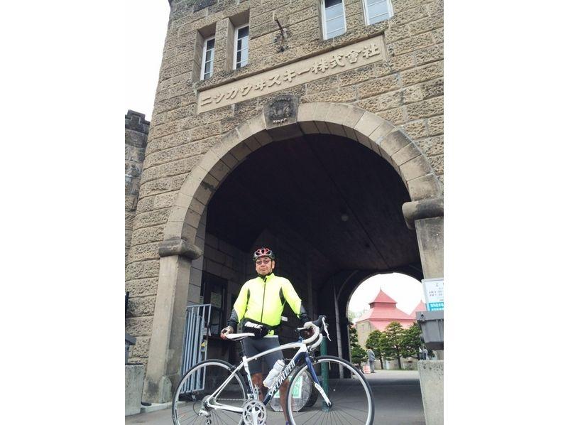 【札幌ロードバイク1日コース】連ドラ「マッサン」ゆかりの地、余市フルーツ街道を走る【市内送迎あり!】の紹介画像