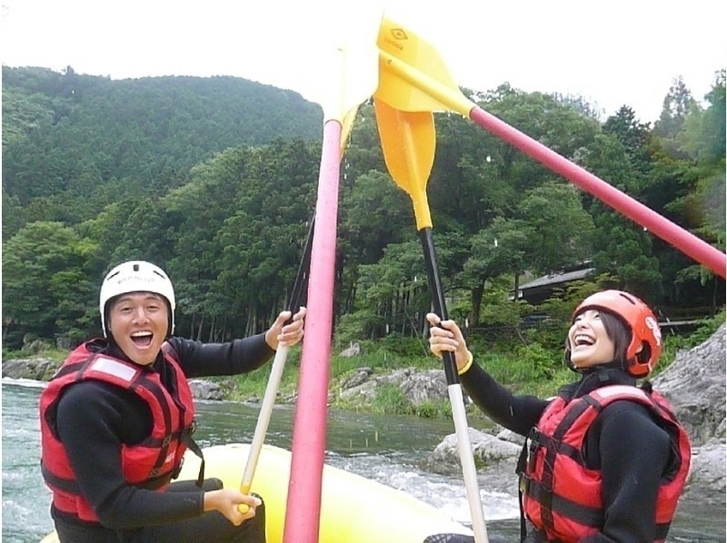 [Tokyo Okutama] can also rafting tours Family Plan <elementary school Allowed · BBQ! > Introduction image