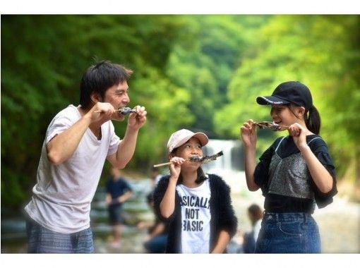 [埼玉·秩父]總長500米!強大的完美的山間小溪釣魚Iwana,Yamame的自助釣魚一天!BBQ追加是的♪の紹介画像