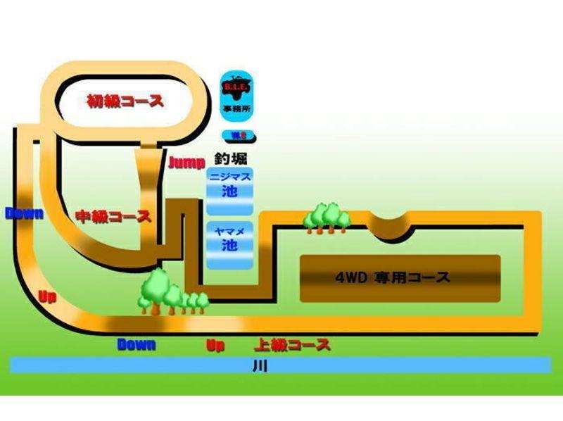 【北海道 恵庭】2人で乗ると楽しさ倍増!2人乗り4WDレンタルバギーコース(20分・30分)の紹介画像