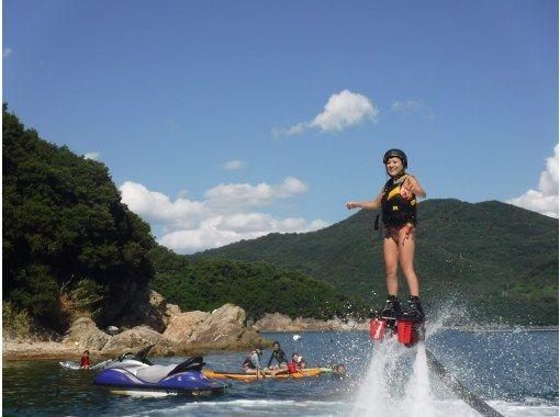 [Hyogo ฮิเมจิ] มือใหม่ต้อนรับ! Fly ประสบการณ์คณะกรรมการที่จะบินไปในท้องฟ้าในแรงดันน้ำの紹介画像