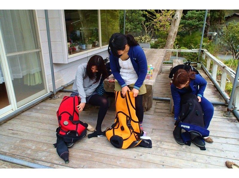 【静岡・東伊豆】体験ダイビング(半日コース)の紹介画像