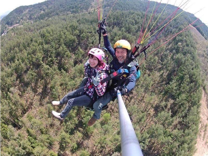 【岐阜/飛騨高山】初めての空中散歩!パラグライダータンデムフライト体験の紹介画像