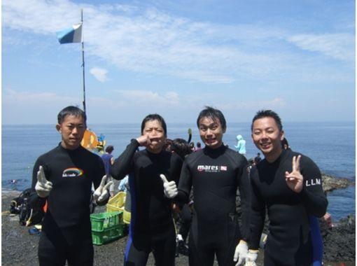【東京/伊豆大島】伊豆大島の海をくまなくご案内!★ファンダイビング★