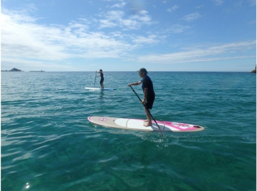 [Tottori/ Uratomi Coast] SUP experience ★ Let's experience the topical marine sports as soon as possible! It's OK for the first time!の紹介画像