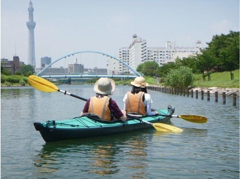 [Tokyo, 23 wards] Tokyo Sky Tree canoe tour [canoe] Introduction image