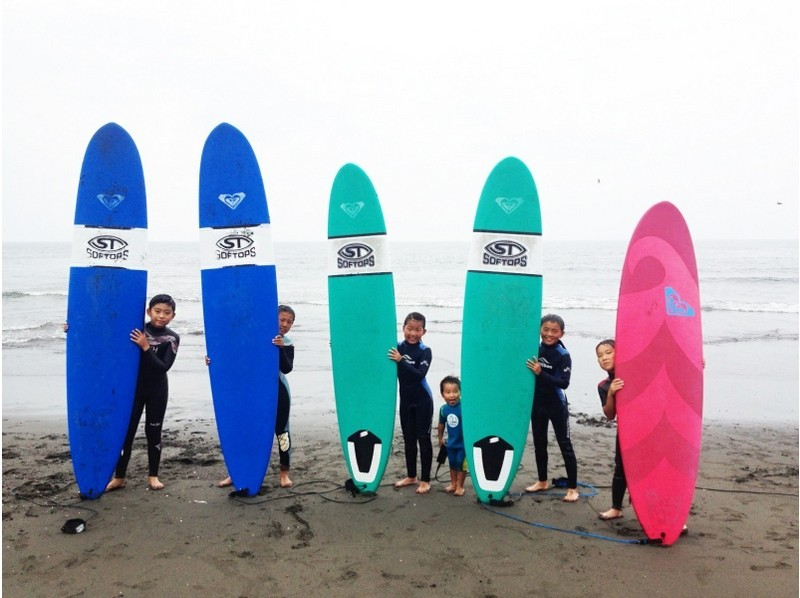 【神奈川・湘南】キッズ&ジュニア コース【サーフィン】の紹介画像