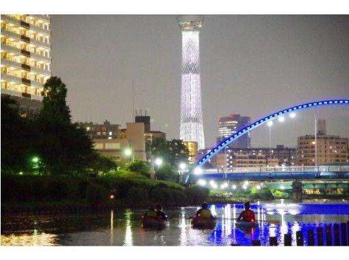 東京スカイツリーカヌー夜景ツアー