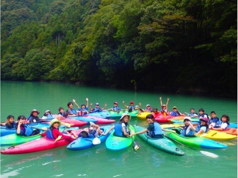 簡介圖像[東京奧多摩]悠閒♪皮划艇體驗之旅(1天試用或半天的體驗)