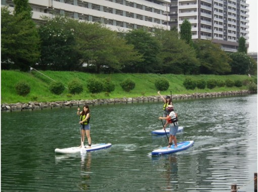 【都内・23区】東京SUP体験【スタンドアップパドルボード】