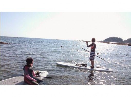 【和歌山】半日SUP+半日体験ダイビングプラン(1日)