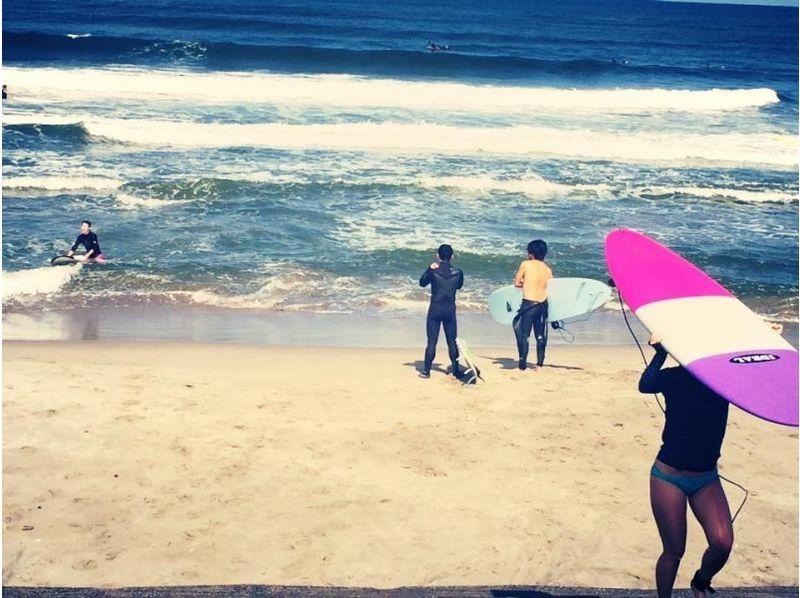 【新潟・新発田】初心者の方におすすめ!手軽にサーフィン体験コース!!(60分)の紹介画像