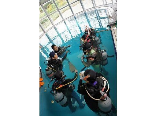 【兵庫/神戸】ダイビング専用プールで体験ダイビングの紹介画像