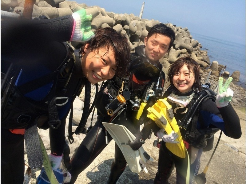 "【Kanagawa Prefecture · Shonan · Enoshima】 Introduction picture of experiential diving 1 day course ""underwater photograph · free gift"""
