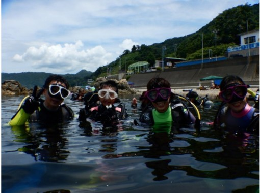 [Fukui ・ Echizen] I feel like a diver! Experience Diving(half-day course)の紹介画像