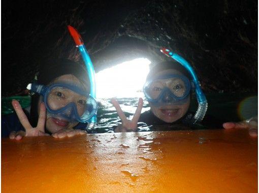 【北海道・積丹美国】青の洞窟シュノーケル・雨でも遊べる!ツアー中の写真プレゼント♪★温水シャワー完備の紹介画像
