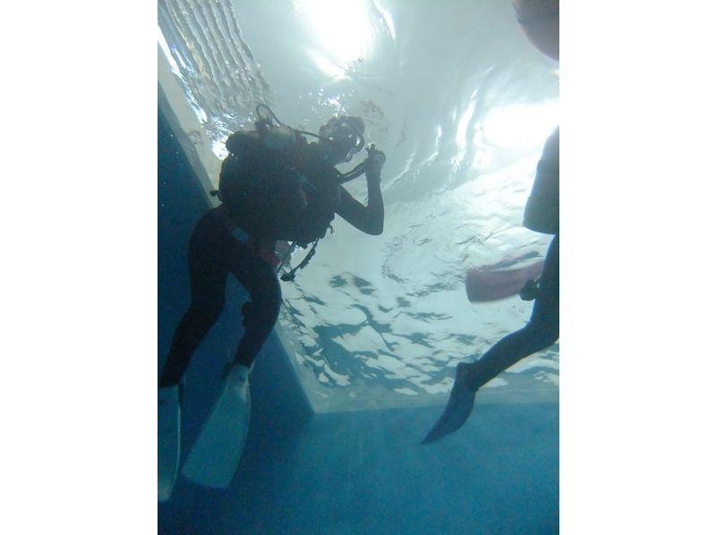 【北海道・札幌】体験ダイビング[プールでの開催]の紹介画像
