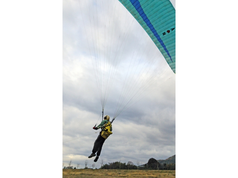 [Kyoto Kameoka] Fuwari new sense! Paraglider towing introduction image of experience (half-day plan)