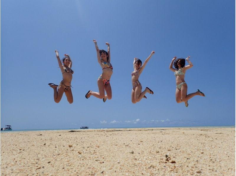 【沖縄・小浜島発着】★幻の島(浜島)上陸ツアー♪海の真ん中に浮かぶ真っ白な砂の島の紹介画像