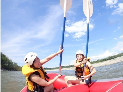 [ Niigata - ten Sun Town, Rafting , Hot spring with] 1 elementary school Year participation from the students OK! Sun this one river Shinano River Rafting tourの紹介画像