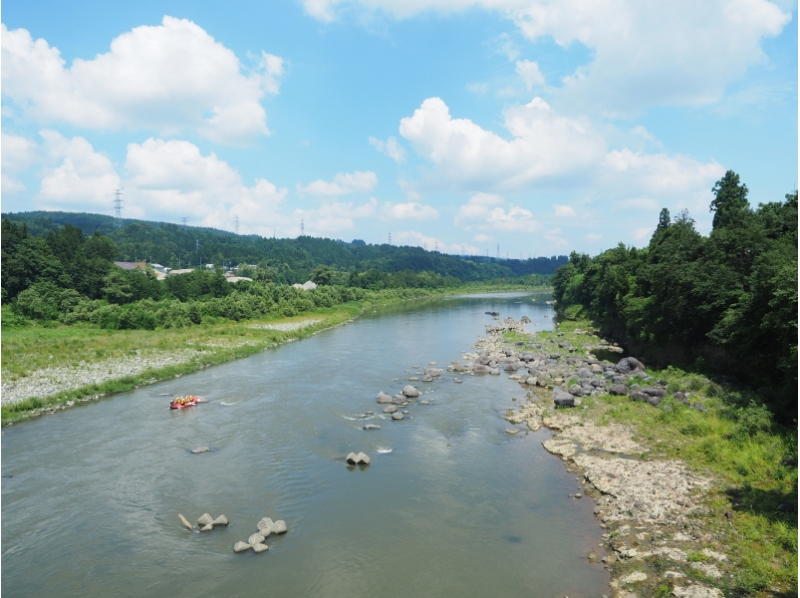 【新潟・信濃川】十日町・信濃川ラフティングコースの紹介画像