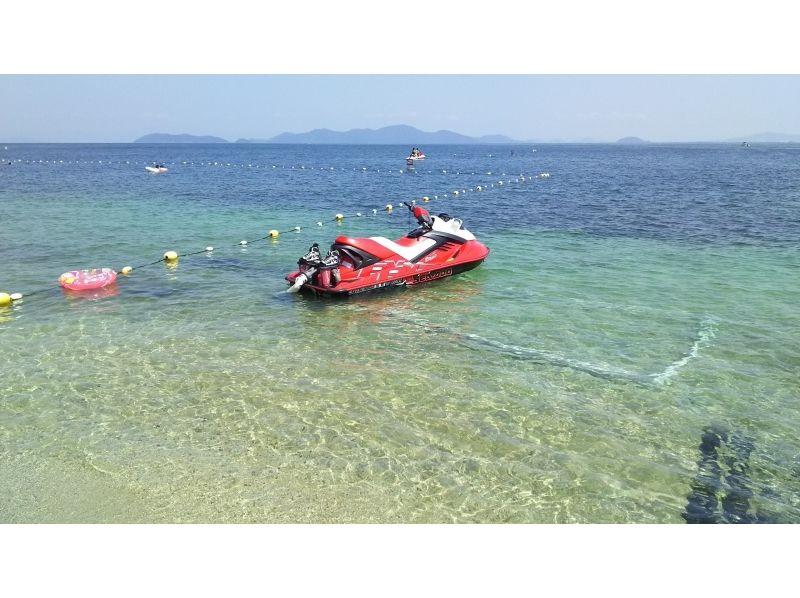 【滋賀・琵琶湖】ベタベタしない!完全淡水 フライボード体験(25分)カーメルビーチクラブ店の紹介画像