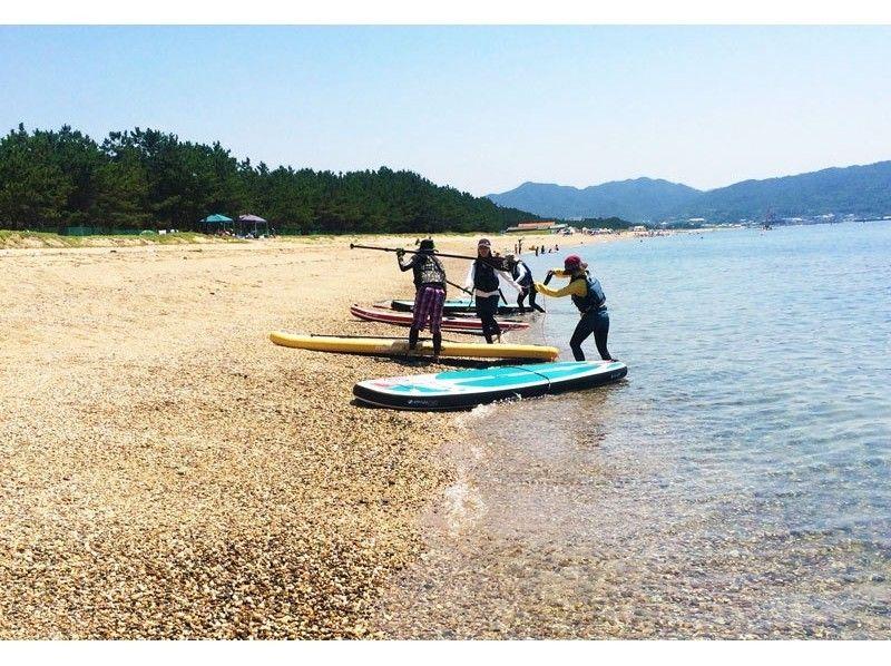 【淡路島】★SUP★手ぶらで(たっぷり1DAY )レンタル体験の紹介画像