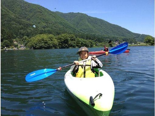 【長野・木崎湖】カヌー体験ツアー★サンライズコース★