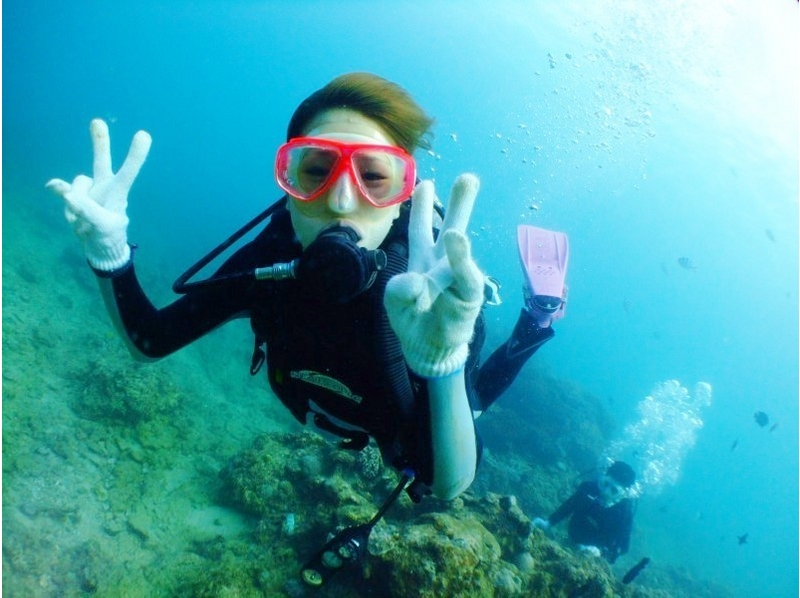 【沖縄・真栄田岬・砂辺】沖縄本島周辺体験ダイビング≪ライセンス不要≫の紹介画像