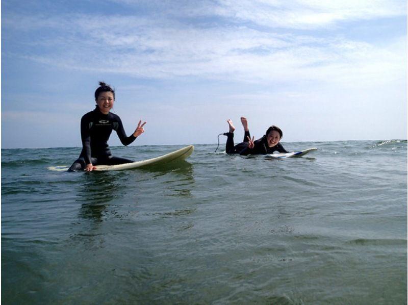 【茨城・大洗海岸】サーフィン体験コースの紹介画像
