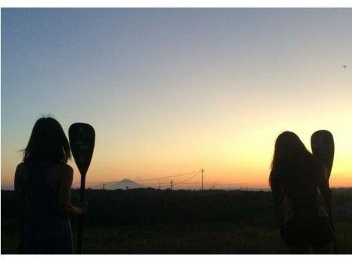 【静岡・清水】二つの世界遺産が眺望!SUP(スタンドアップパドル)レッスン(90分)