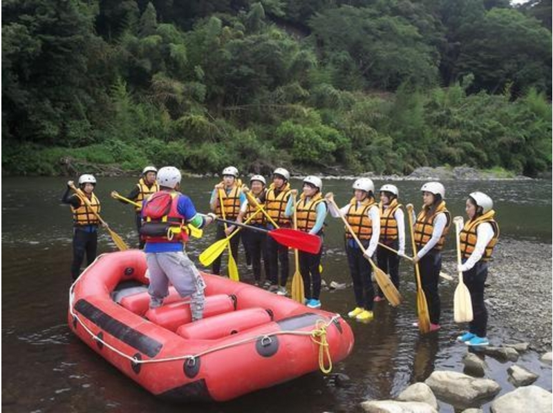 [Kyoto Hozu] recommended to participate in the family! Healing Hozu rafting tour (upstream course) AM9: 00 Introduction to image