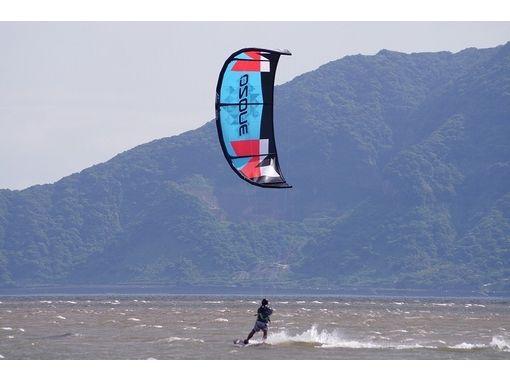 【九州・鹿児島】初心者でも上達したい人におすすめ!カイトボード体験(マスターコース)