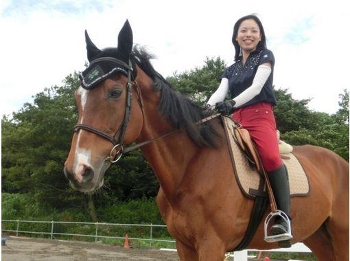 【茨城・守谷】マンツーマンで丁寧に指導します!体験乗馬(1回コース)