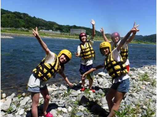 [Nagano / Azumino] Beginner plan ☆ Relaxing experience course <5km / 60 minutes> Children can participate from 4 years old! Recommended for summer vacation ☆の紹介画像