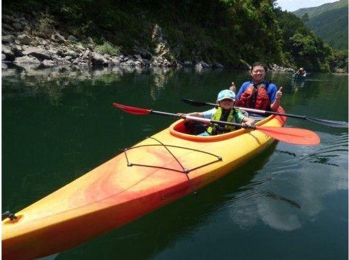 [高知-四万十]日本的三大清流之一!四万十下河!串聯皮艇(2人)の紹介画像