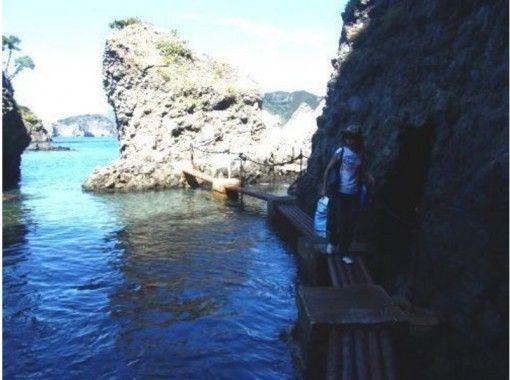 【南伊豆・中木】「ヒリゾ浜」に上陸!透明度抜群のシュノーケルガイドツアー1日コースの紹介画像