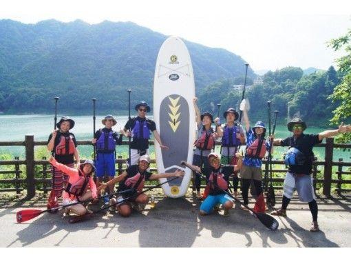 [Gunma ・ Minamikami] Lake SUP 1-Day tour: Lake Akaya tripの紹介画像