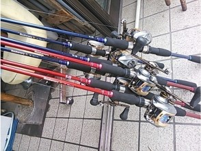 [橫濱,神奈川]推薦釣魚初學者!試圖挑戰誘惑釣魚描述圖像的魅力(1天課程)