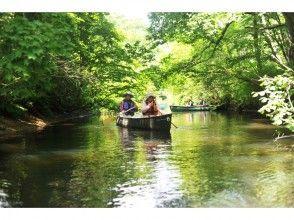 【北海道・美々川】緑が生い茂る千歳・美々川カヌーツーリング(自然ふれあいハーフコース)の魅力の説明画像