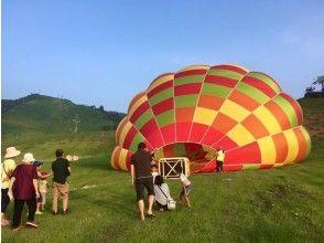 プランの魅力 熱気球って大きいね! の画像
