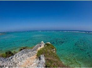 【沖縄・恩納村】完全貸切!青の展望台&白のビーチシュノーケル写真撮影&SDカードプレゼント付き!の魅力の説明画像