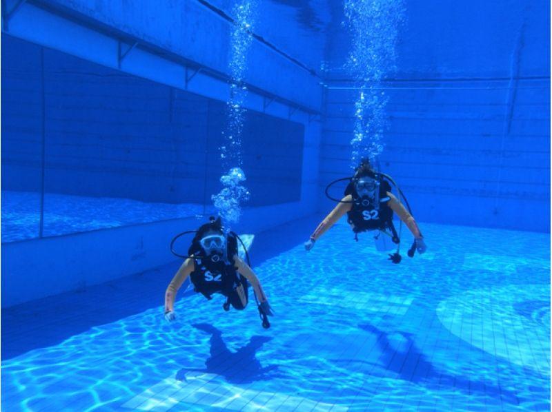 プランの魅力 水中でのスキル講習 の画像