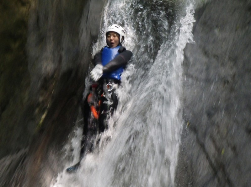 Popular canyoning spots in the country