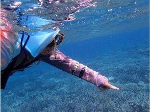 プランの魅力 Enjoy the exhilaration of the sea and sun of Okinawa with a snorkel の画像