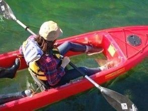 [Hokkaido Chitose Shikotsuko] of clear kayak tour attractive description image