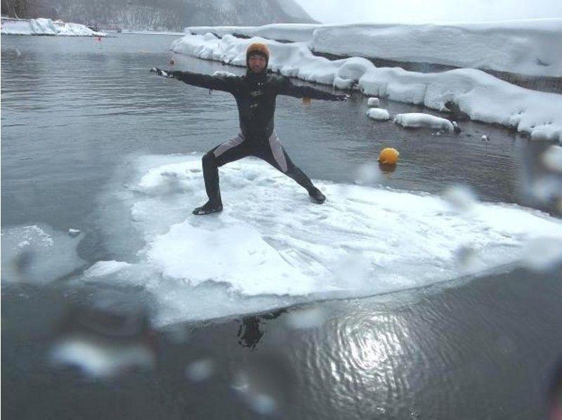 プランの魅力 氷が割れて乗れることも の画像