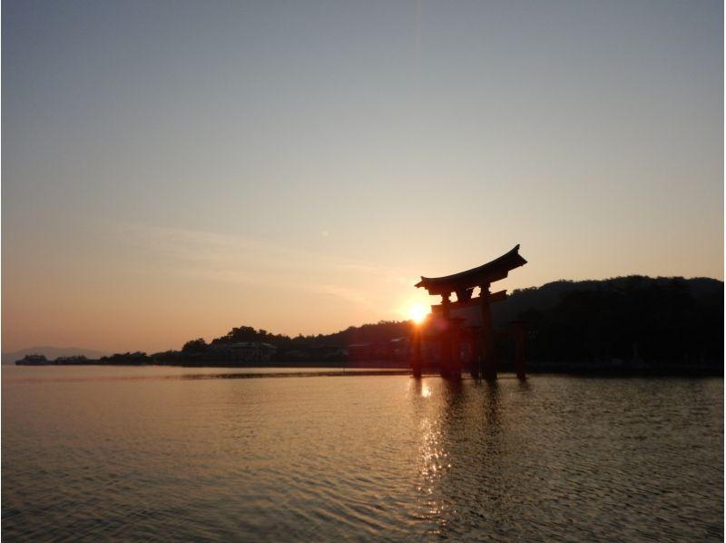 プランの魅力 早朝の鳥居 の画像