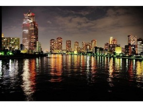 Enjoy the [Nihonbashi, Tokyo] sparkling night view! Charm of description image of Tokyo Bay Night Cruise <chartered-capacity 44 people>