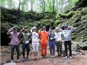 プランの魅力 参加者には洞窟探検証明しゅょ発行。 の画像
